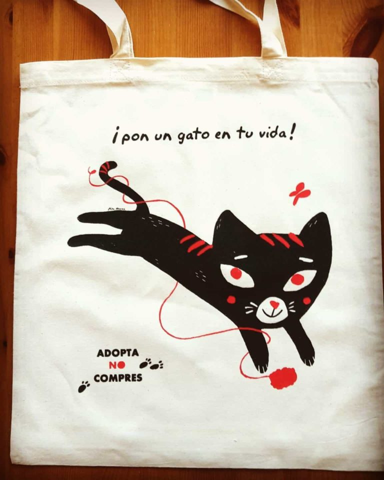 CAT BAG PITU ÁLVAREZ